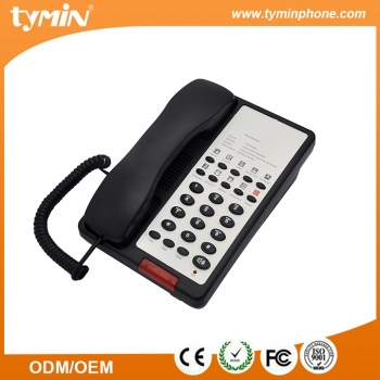 Nice quality hotel phone guest room telephone with 10 groups one-touch memories(TM-PA043)