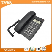 Aliexpress Newest Model Helpful Hands-Free Landline Corded Desktop Phone with Caller ID Display Manufacturer (TM-PA126)