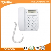 China Basic wall mountable land line big button telephone with call id display (TM-PA036) factory