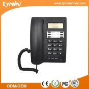 Aliexpress 2019 Best Selling Basic Caller ID Corded Business Phone with Free Logo Printing Factory (TM-PA135)