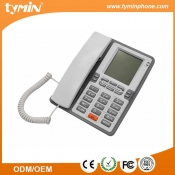 China High Quality Single Line Corded Home Phones Set With Super LCD Display (TM-PA076) factory