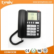 China Large LCD Display Landline Analog Telephones with Blue Backlight (TM-PA096) factory