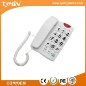 Aliexpress Latest Version Easy to Use Big Keypad Senior Phones with Hands Free Function (TM-PA189)